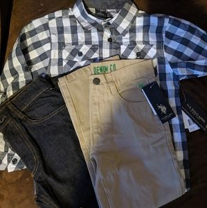 Ralph Lauren Polo bundle- boys size 6